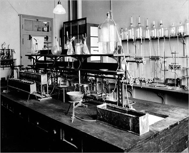Laboratório de fisiologia na Universidade de Toronto onde Banting e Best trabalharam.