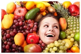 Pouco importa qual seja o seu tipo de fruta - o importante é manter-se saudável sempre!