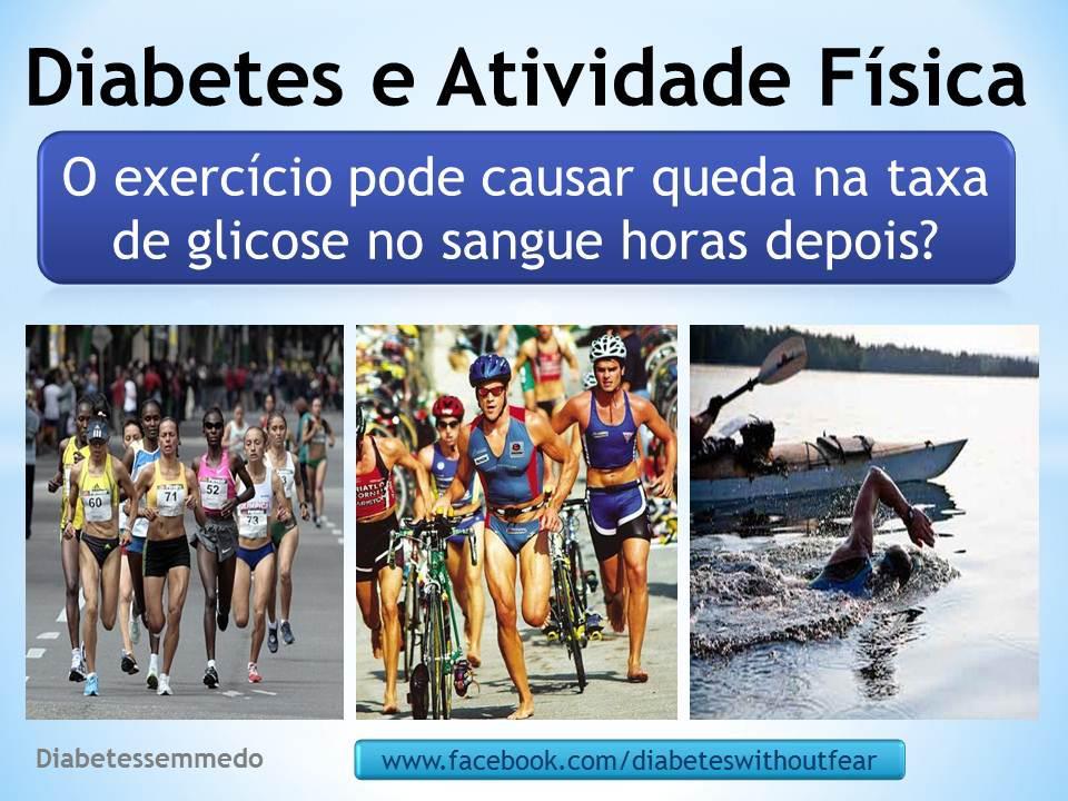 diabetes sem medo diabetes e atividades fisicas