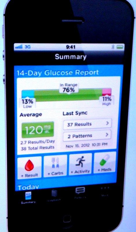 veriosync app diabetes