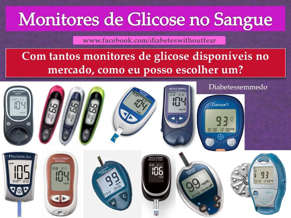 monitores de glicose no sangue