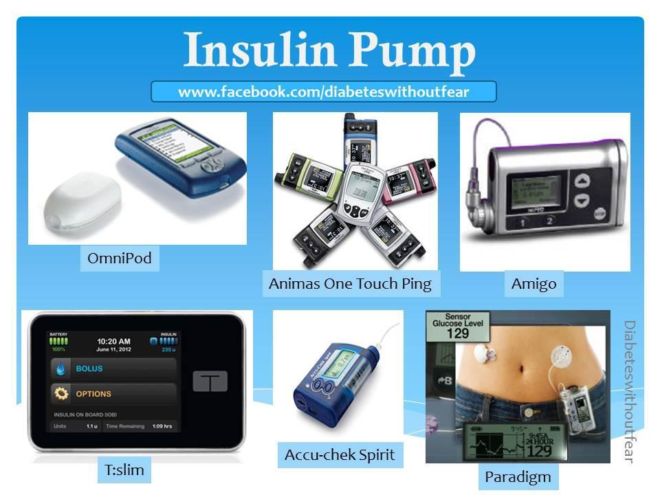 Insulin Pump for diabetics