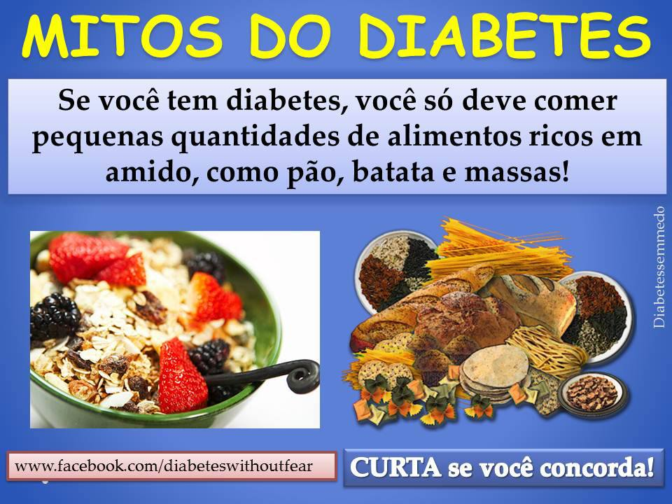 mitos do diabetes por diabetes sem medo
