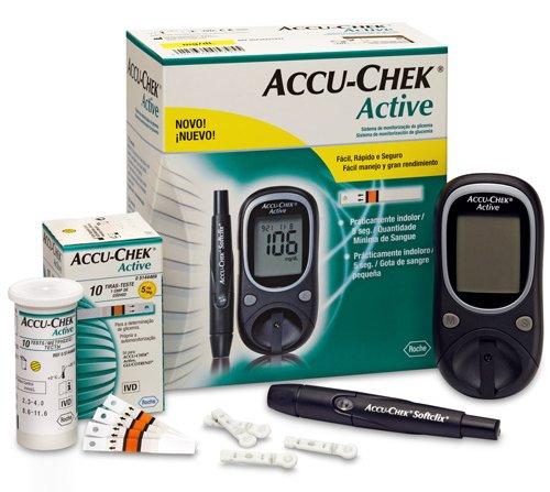 glicosimetro accu-chek diabetes