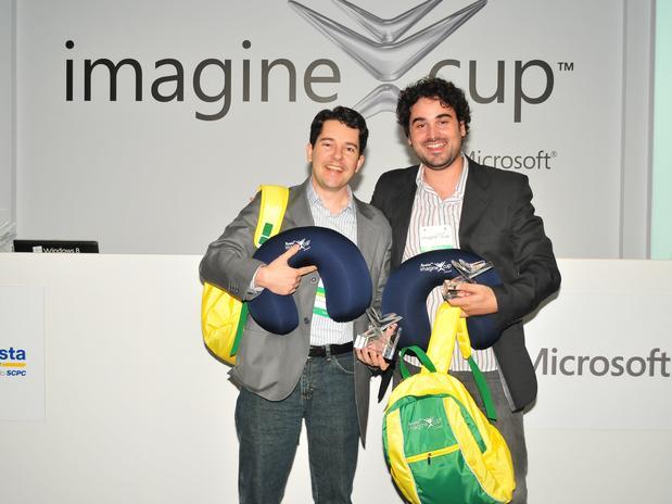 O endocrinologista Leandro Diehl (esquerda) e Rodrigo Martins de Souza