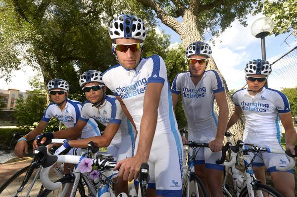A equipe de ciclistas diabéticos tipo 1 do time Novo Nordisk é exemplo de sucesso e superação.