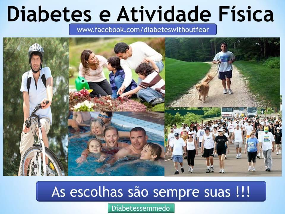 diabetes e atividades fisicas diabetes sem medo