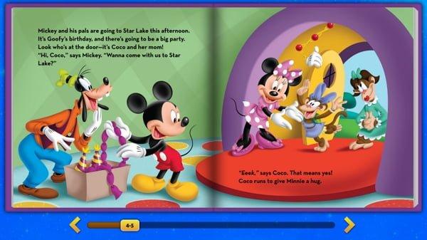 livro sobre diabetes da Disney