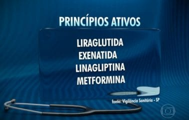 jornal nacional metformina diabetes