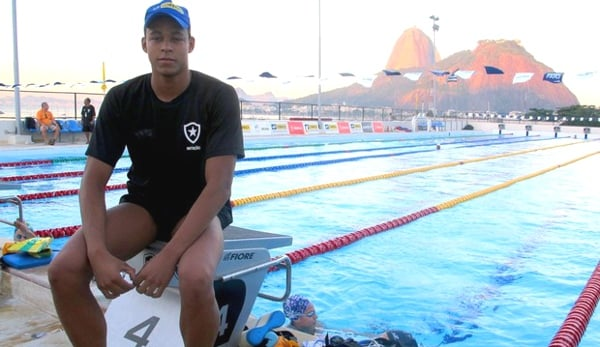 matheus santana nadador diabetes