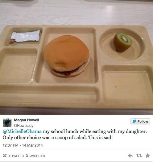 almoco escola publica eua michelle obama