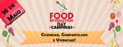 banner food revolution day campinas