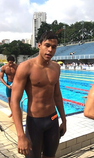 nadador matheus santana diabetes