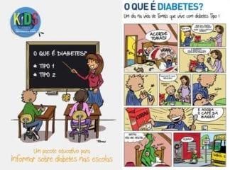material portugues kids idf diabetes
