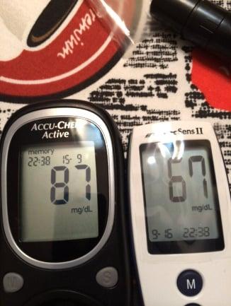 Sens II medidor coreano diabetes