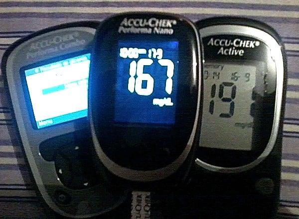 accu-chek performa nano active diabetes