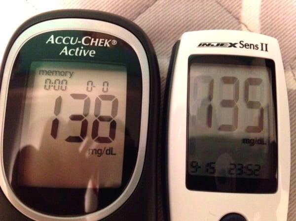injex sens II medidor diabetes