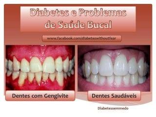 diabetes sem medo problemas de saude bucal