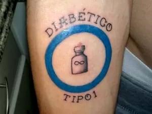 tatuagem diabetes tipo 1