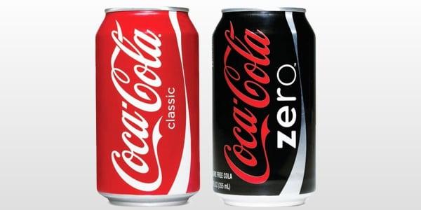 coca cola normal e zero diabetes