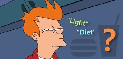 diferenca light e diet diabetes 2