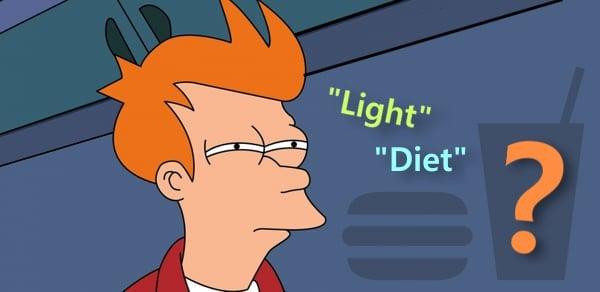 diferenca light e diet diabetes