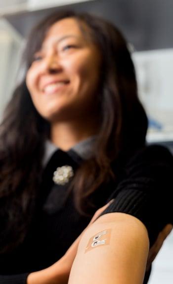 tatuagem glicosimetro uso