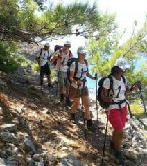 escalada Montanhas Brancas diabetes tipo 1-2