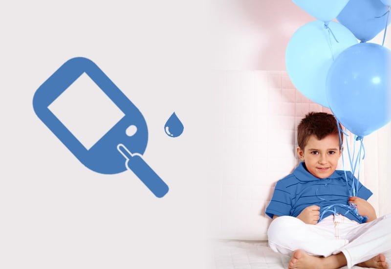 diabetes exige independencia das crianças