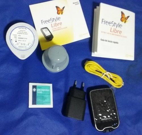 FreeStyle Libre - conteúdo da embalagem