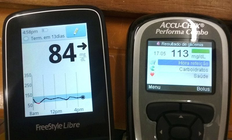 FreeStyle Libre - medição de glicemia diabetes 3