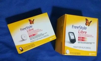 freestyle libre embalagem diabetes