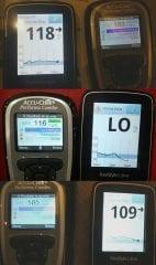 freestyle libre - variações de medição de glicemia