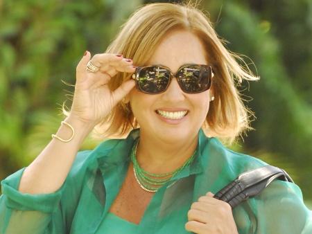 Claudia Jimenez e o diabetes